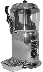Аппарат для горячего шоколада BRAS Scirocco Silver - фото 1