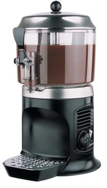 Аппарат для горячего шоколада Ugolini Delice 3lt black - фото 1