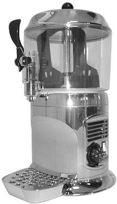 Аппарат для горячего шоколада Ugolini Ugolini Delice 3lt silver - фото 1