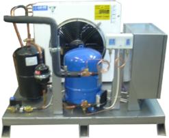 Агрегат компрессорно-конденсаторный Эльф 4М ИПКС-116-12 - фото 1