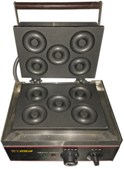 Аппарат для донатсов Ecolun на 6 ячеек - фото 1