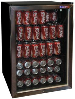 Барный холодильник Cooleq TBC-145 - фото 1