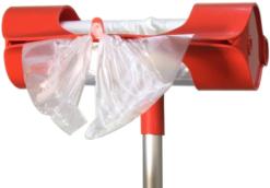 Диспенсер плоских пакетов Ingemann (красный) - фото 2