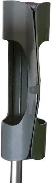 Диспенсер плоских пакетов Ingemann (серый) - фото 2