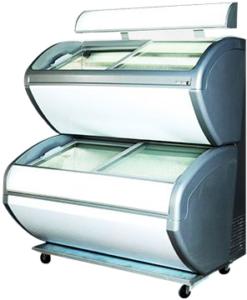 Двухъярусный морозильный ларь Ugur D 420 L (канапе