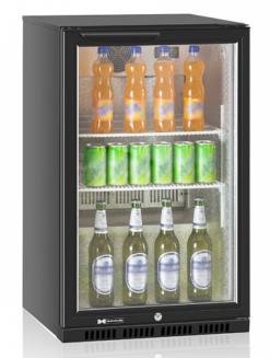Холодильный барный шкаф Hurakan HKN-DB125H - фото 1