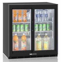 Холодильный барный шкаф Hurakan HKN-DB205S - фото 1