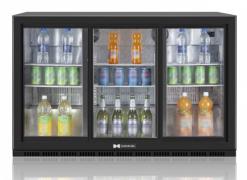 Холодильный барный шкаф Hurakan HKN-DB335S - фото 1