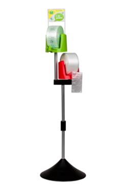 Мобильный дисплей диспенсера пакетов Ingemann 108 см с адаптером втулки - фото 2