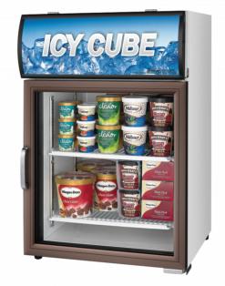 Морозильный шкаф со стеклянной дверью Turbo air FS-120F - фото 1