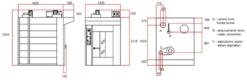 Печь ротационная Bassanina Rotor 69 платформа - фото 1