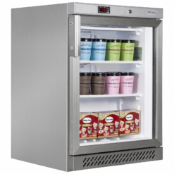 Шкаф морозильный со стеклом Tefcold UF200SG-P - фото 1