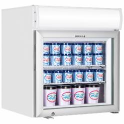 Шкаф морозильный со стеклом Tefcold UF50GCP-P - фото 1