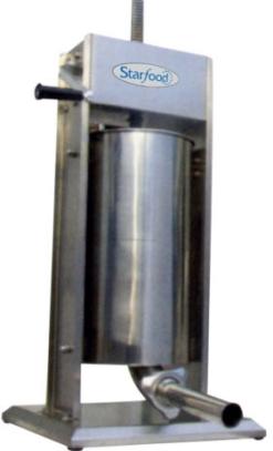 Шприц колбасный вертикальный Starfood SV-15 - фото 1