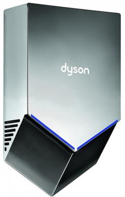Сушилка для рук Dyson Airblade V HU02 цвет никель - фото 1