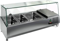 Витрина холодильная настольная Hicold VRX 1200 - фото 1