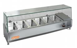 Витрина холодильная настольная Hicold VRX 1400 - фото 1