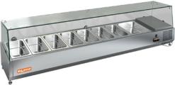 Витрина холодильная настольная Hicold VRX 1500 - фото 1