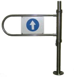 Ворота механические правые Корбис MGR1060-CR с системой «антипаника» - фото 1